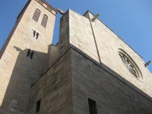 L´actual basílica de Santa Maria d´IgualadaB